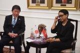 Menlu RI-Jepang bahas situasi di Myanmar