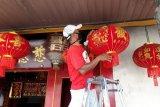 Warga Tionghoa kumpul keluarga melalui virtual  saat Imlek