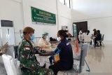 TNI gelar pengobatan gratis bagi warga perbatasan