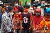 Kunjungi korban longsor di Kebumen, Mensos janji datangkan tim  'trauma healing'