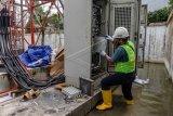 Pemulihan infrastruktur telekomunikasi terdampak banjir