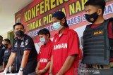 Polrestabes Semarang ringkus pengedar dan kurir sabu-sabu