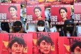 PBB kepada junta militer Myanmar: Bebaskan Presiden Win Myint dan Aung San Suu Kyi sekarang