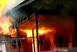 Empat rumah di Kelurahan Madurejo hangus terbakar