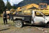 Kelompok bersenjata bakar kamp dan kendaraan milik PT Unggul di Kabupaten Puncak Papua