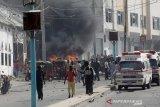 20 orang tewas usai bom mobil bunuh diri meledak di depan restoran Somalia