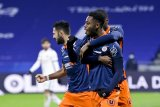 Liga Prancis-Lyon terpeleset di markas sendiri seusai menyerah 2-1 dari Montpellier