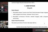 MK tolak permohonan Cabup dan Cawabup Padang Pariaman Tri Suryadi-Taslim