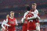 Liga Inggris - Trigol Aubameyang antar Arsenal tekuk Leeds 4-2