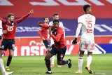 Lille kembali ke puncak usai ditahan imbang tanpa gol oleh Brest