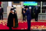 Presiden saksikan ucap sumpah jabatan Wakil Ketua MA Andi Samsan Nganro