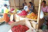 Harga naik, penjualan cabai rawit di Solo anjlok