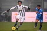 Cuadrado bakal absen di tiga laga Juventus setelah cidera hamstring