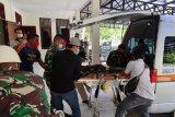 Jenazah anggota Yonif 400/BR Prada Ginanjar diterbangkan ke  Jakarta