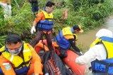 BPBD evakuasi mayat korban hanyut di Sungai Ogan