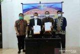 Rektor UNP tandatangani NPHD pengembangan kampus UNP di Pessel