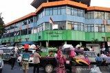 Tim Damkar berhasil padamkan Pasar Kliwon Kudus
