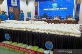 BNN berhasil gagalkan peredaran 466 kg sabu sindikat Medan, Palembang, Jakarta