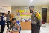 43 penyintas COVID-19 di Polres Pelabuhan Makassar skrining plasma konvalesen
