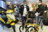 Dukung UMKM saat pandemi, Henry Indraguna borong sepeda lipat