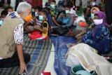 Gubernur Ganjar minta ruang pengungsian banjir Pekalongan disekat