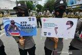 Jaga kamtibmas KASBI imbau penolakan UU Ciptaker buruh lewat dialog