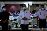 Presiden Jokowi berharap realisasi vaksinasi COVID-19 terus naik drastis