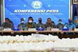 Bakamla dan BNN gagalkan penyelundupan 436,3 kg narkoba sabu-sabu