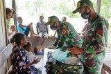 Satgas Yonif MR 413 Kostrad berikan layanan kesehatan warga di perbatasan