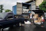 Manfaatkan truk kontainer, petugas Bea Cukai kejar pelaku hingga Lamongan
