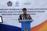 Gubernur Kaltara hari pertama langsung mencanangkan zona integritas