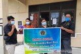 PWI Gumas gandeng pemerintah kelurahan salurkan bantuan sembako