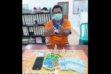 Polisi tangkap Norman buang sabu dalam closet rumah di Muara Teweh