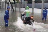 BMKG prakirakan hujan ringan dan lebat guyur wilayah Jakarta