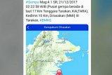 Kaltara diguncang gempa bumi magnitudo 4,4