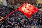 Penentang kudeta Myanmar menyambut baik sanksi baru dari Inggris, Kanada