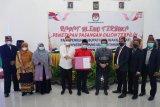 KPU Lampung Selatan tetapkan pasangan Nanang-Pandu sebagai Bupati dan Wakil Bupati terpilih