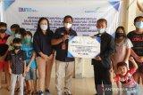 Bandara Samrat bantu pendidikan anak panti asuhan di Sulut