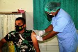 Dandim Merauke terima suntikan vaksin CPOVID-19 Sinovac tahap dua
