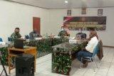 Kodim 1702 Jayawijaya bersama pejabat daerah ikuti rakornis TMMD secara virtual
