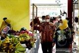 Pasar Bahari Kumai diharapkan mampu mendukung perekonomian masyarakat