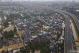 BPBD DKI infokan kondisi banjir Minggu pagi, Cipinang Hulu siaga III, waspada banjir