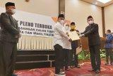KPU tetapkan Hadianto-Reny sebagai Wali Kota dan Wakil Wali Kota Palu terpilih