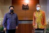 Erick Thohir ajak Singapura pererat kerja sama ekonomi