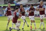 West Ham naik ke posisi keempat klasemen usai tundukkan Hotspur