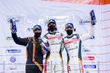 Pebalap Indonesia Sean Gelael tutup Asian Le Mans seri Abu Dhabi dengan kemenangan