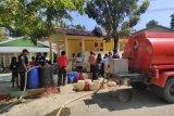 BPBD salurkan air bersih sejumlah lokasi alami kekeringan di Padang