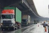Jasa Marga sebut genangan air surut, Tol Japek Km 19 arah Jakarta kembali normal