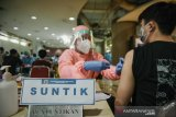 Menteri Sandiaga berharap vaksinasi pelaku parekraf terlaksana sesuai target