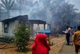 Empat unit rumah terbakar di Pasaman Barat